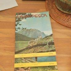Coleccionismo de Revistas y Periódicos: LOTE 4 REVISTAS CAZA Y PESCA AÑO 1957. Lote 269188438