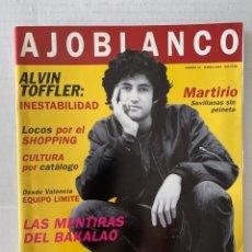 Coleccionismo de Revistas y Periódicos: REVISTA AJOBLANCO 61 DE 1994. Lote 269188450