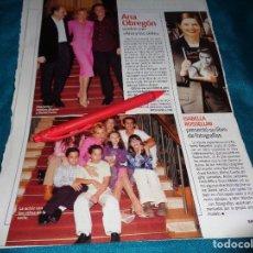 Coleccionismo de Revistas y Periódicos: RECORTE : ANA OBREGON, VUELVE CON ANA Y LOS SIETE. SEMANA, OCTBRE 2002(#). Lote 269211728