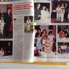 Colecionismo de Revistas e Jornais: ALASKA EN LA COMUNION DE RAPHAEL NATALIA FIGUEROA. Lote 269260108
