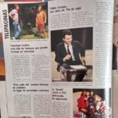 Coleccionismo de Revistas y Periódicos: PABLO LIZCAINO CAYETANO GUILLEN LA BOMBI FEDRA LORENTE CAPERUCITA ROJA. Lote 269273163