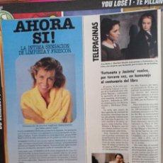 Coleccionismo de Revistas y Periódicos: ANA BELEN MARIBEL MARTIN FORTUNATA Y JACINTA. Lote 269443083