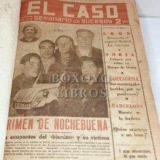 Coleccionismo de Revistas y Periódicos: PERIODICO. SEMANARIO 'EL CASO'. AÑO 1957. NÚMS. 244 (5 ENERO) A 295 (28 DICIEMBRE). Lote 269469783