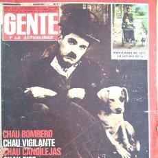 Coleccionismo de Revistas y Periódicos: GENTE 649 291277 CHARLES CHAPLIN MUERTE CANDILEJAS BOMBERO. Lote 269513188