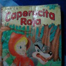 Coleccionismo de Revistas y Periódicos: CAPERUCITA ROJA EDITORIAL SIGMAR CUENTO INFANTIL NO COMIC. Lote 269555963