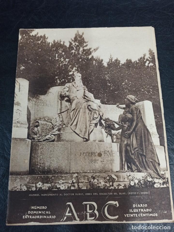 ABC DOMINICAL EXTRAORDINARIO. 03 DE DICIEMBRE DE 1927 (Coleccionismo - Revistas y Periódicos Antiguos (hasta 1.939))