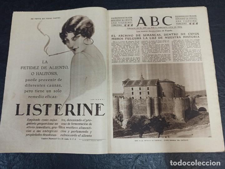 Coleccionismo de Revistas y Periódicos: ABC Dominical extraordinario. 03 de diciembre de 1927 - Foto 2 - 269581598
