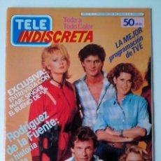 """Coleccionismo de Revistas y Periódicos: REVISTA TELE INDISCRETA Nº 3 MARC SINGER RODRIGUEZ DE LA FUENTE POSTER DE """"V"""". Lote 269747158"""