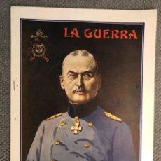 Collectionnisme de Revues et Journaux: LA GUERRA ILUSTRADA. DIRECTOR AUGUSTO RIERA NO.66, (1A. GUERRA MUNDIAL) MIGUEL SEGUÍ. EDITORES…. Lote 269748473