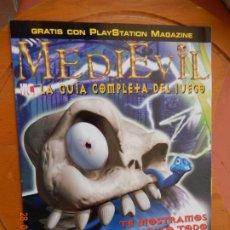 Coleccionismo de Revistas y Periódicos: PLAYSTATION MAGAZINE Nº 18-GUIA COMPLETA DE JUEGO MEDIEVIL. Lote 269849688
