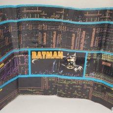 Coleccionismo de Revistas y Periódicos: HOBBY CONSOLAS MAPA BATMAN NES NINTENDO. AÑOS 80. REVISTA. NO GAME BOY.. Lote 269999468