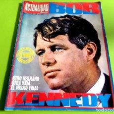 Coleccionismo de Revistas y Periódicos: LA ACTUALIDAD ESPAÑOLA Nº 858 -JUNIO 1968 -BOB KENNEDY -SUPLENTO ESPECIAL-. Lote 270148278