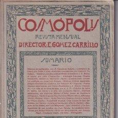Colecionismo de Revistas e Jornais: COSMOPOLIS - REVISTA MENSUAL - E. GOMEZ CARRILLO. Lote 270163493