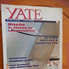 Coleccionismo de Revistas y Periódicos: YATE REVISTA Nº 343 - ABRIL 1995 DISEÑO - ELECTRICIDAD - VER INDICE. Lote 270180428