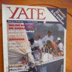 Coleccionismo de Revistas y Periódicos: YATE REVISTA Nº 352 - ENERO 1996 - SALON NAUTICO DE BARCELONA - REGATAS - VER INDICE. Lote 270180538
