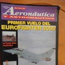 Coleccionismo de Revistas y Periódicos: AERONAUTICA Y ASTRONAUTICA REVISTA 656 - SEPTIEMBRE 1996 - PRIMER VUELO DEL EUROFIGHTER 2000. Lote 270180963