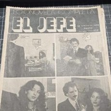 Coleccionismo de Revistas y Periódicos: FOTONOVELA COMPLETA EL JEFE EDITADA POR LA REVISTA PRONTO AÑOS 80. Lote 270182538