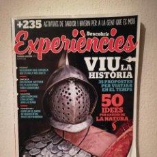 Coleccionismo de Revistas y Periódicos: REVISTA - DESCOBRIR EXPERIÈNCIES NUMERO 3 - TURISMO - VIU LA HISTORIA - EN CATALAN - AÑO 2015. Lote 270184723