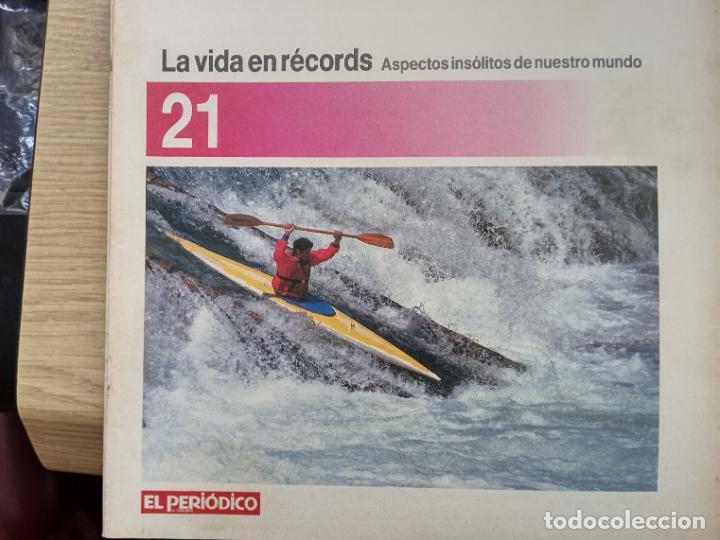 LA VIDA EN RECORDS - N 21 - AÑOS 80 - SUPLEMENTO (Coleccionismo - Revistas y Periódicos Modernos (a partir de 1.940) - Otros)