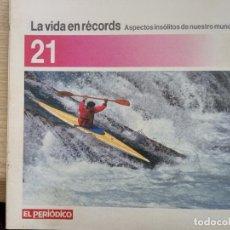 Coleccionismo de Revistas y Periódicos: LA VIDA EN RECORDS - N 21 - AÑOS 80 - SUPLEMENTO. Lote 270187493