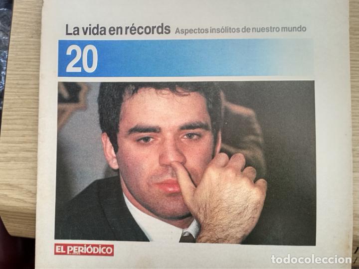 LA VIDA EN RECORDS - N 20 - AÑOS 80 - SUPLEMENTO (Coleccionismo - Revistas y Periódicos Modernos (a partir de 1.940) - Otros)