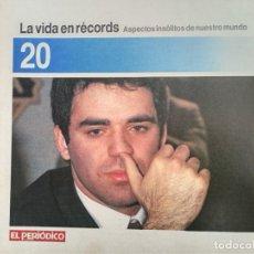 Coleccionismo de Revistas y Periódicos: LA VIDA EN RECORDS - N 20 - AÑOS 80 - SUPLEMENTO. Lote 270187518