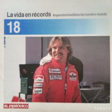 Coleccionismo de Revistas y Periódicos: LA VIDA EN RECORDS - N 18 - AÑOS 80 - SUPLEMENTO. Lote 270187563