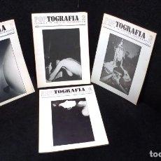 Collectionnisme de Revues et Journaux: POPTOGRAFIA - VOLUMEN 1 - NUMEROS DEL 1 AL 4 -. Lote 270242578