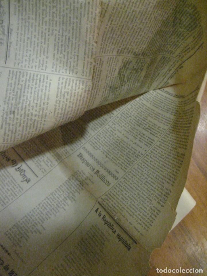 Coleccionismo de Revistas y Periódicos: periodico el latigo nacional . nº 16 año 1894 semanario republicano . presidentes republica - Foto 6 - 270394688
