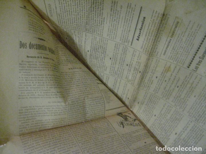 Coleccionismo de Revistas y Periódicos: periodico el latigo nacional . nº 16 año 1894 semanario republicano . presidentes republica - Foto 10 - 270394688