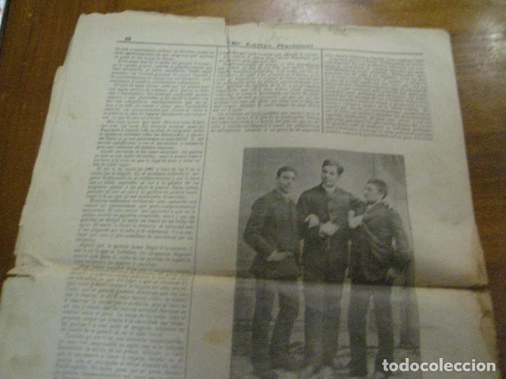 Coleccionismo de Revistas y Periódicos: periodico el latigo nacional . nº 16 año 1894 semanario republicano . presidentes republica - Foto 11 - 270394688