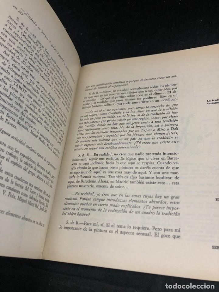 Coleccionismo de Revistas y Periódicos: REVISTA TROPOS. CREACIÓN ARTE Y CULTURA. 7/8. PROCESO DE CREACIÓN Y PROBLEMAS ACTUALES DE LA PINTURA - Foto 4 - 270523118