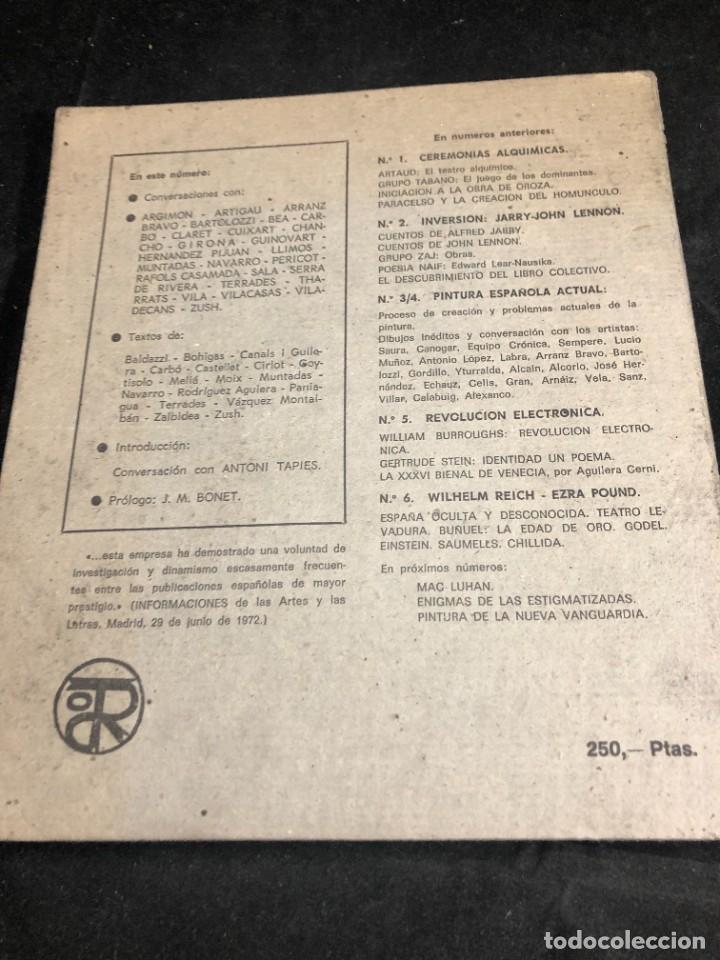 Coleccionismo de Revistas y Periódicos: REVISTA TROPOS. CREACIÓN ARTE Y CULTURA. 7/8. PROCESO DE CREACIÓN Y PROBLEMAS ACTUALES DE LA PINTURA - Foto 19 - 270523118