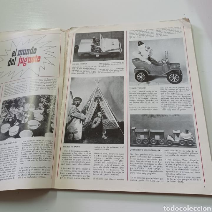 Coleccionismo de Revistas y Periódicos: EL JUGUETE EN EL MUNDO DE LOS NIÑOS N° 7 VERANO DEL 68 - Foto 3 - 270536718