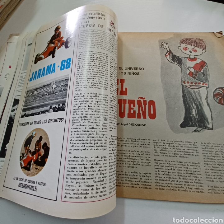Coleccionismo de Revistas y Periódicos: EL JUGUETE EN EL MUNDO DE LOS NIÑOS N° 7 VERANO DEL 68 - Foto 5 - 270536718
