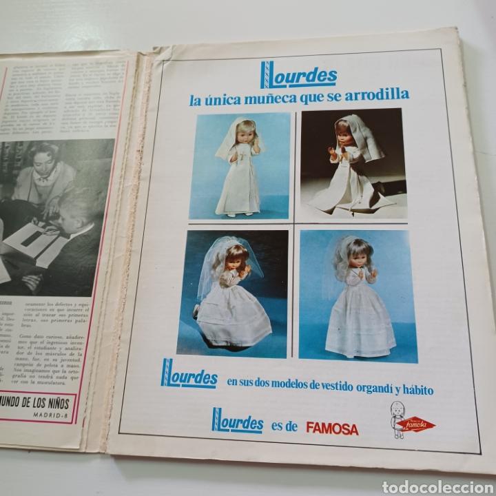 Coleccionismo de Revistas y Periódicos: EL JUGUETE Y EL MUNDO DE LOS NIÑOS N° 5 MAYO DEL 68 - Foto 3 - 270537743