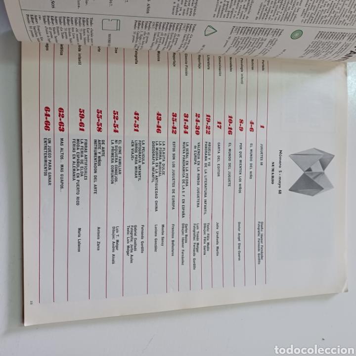 Coleccionismo de Revistas y Periódicos: EL JUGUETE Y EL MUNDO DE LOS NIÑOS N° 5 MAYO DEL 68 - Foto 5 - 270537743