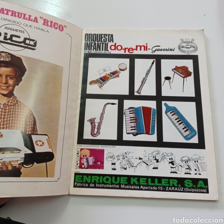 Coleccionismo de Revistas y Periódicos: EL JUGUETE EN EL MUNDO DE LOS NIÑOS N° 6 JUNIO 1968 - Foto 2 - 270541048