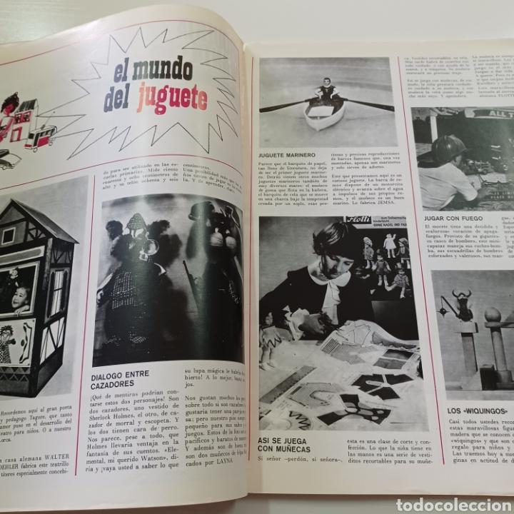 Coleccionismo de Revistas y Periódicos: EL JUGUETE EN EL MUNDO DE LOS NIÑOS N° 6 JUNIO 1968 - Foto 3 - 270541048