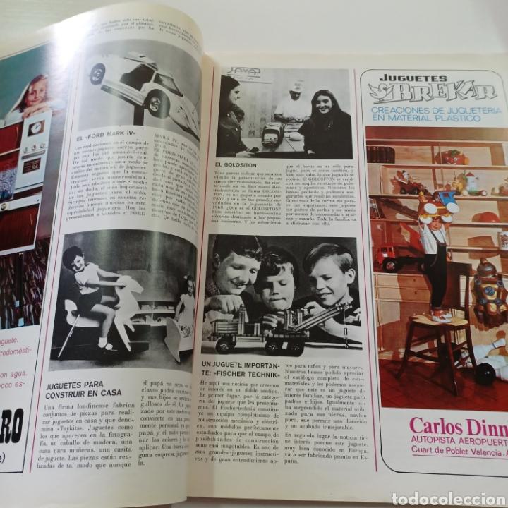 Coleccionismo de Revistas y Periódicos: EL JUGUETE EN EL MUNDO DE LOS NIÑOS N° 6 JUNIO 1968 - Foto 4 - 270541048