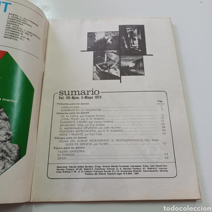 Coleccionismo de Revistas y Periódicos: HISTORIAS PARA NO DORMIR - NARCISO IBAÑEZ SERRADOR VOL. VII N° 5 MAYO 1973 - Foto 2 - 270542683