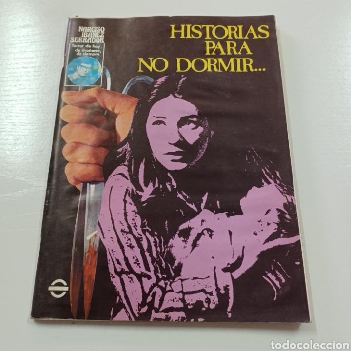 HISTORIAS PARA NO DORMIR - NARCOSO IBAÑEZ SERRADOR VOL. VIII N° 1 ENERO FEBRERO 1974 (Coleccionismo - Revistas y Periódicos Modernos (a partir de 1.940) - Otros)