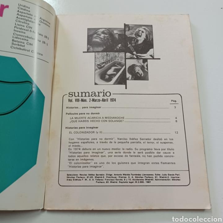 Coleccionismo de Revistas y Periódicos: HISTORIAS PARA NO DORMIR- NARCISO IBAÑEZ SERRADOR VOL. VIII N° 2 MARZO ABRIL 1974 - Foto 2 - 270545218