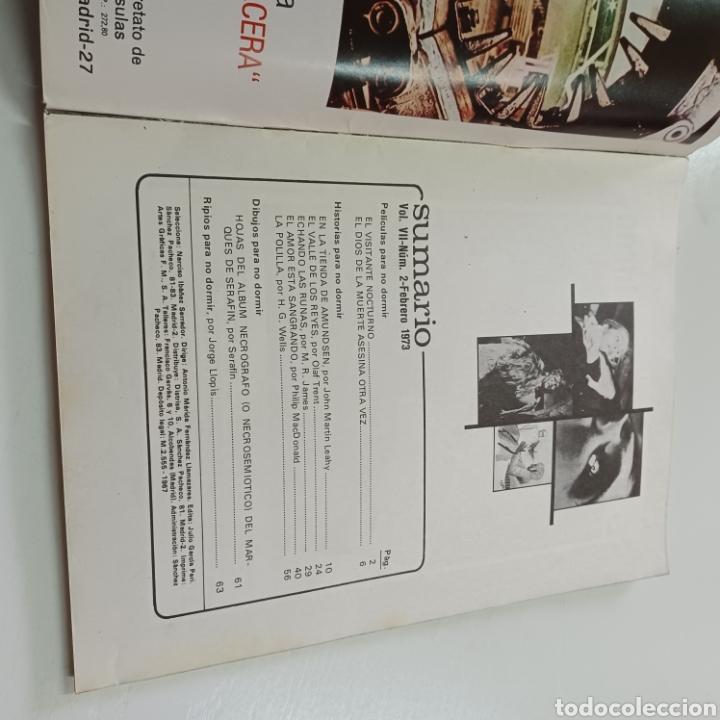 Coleccionismo de Revistas y Periódicos: HISTORIAS PARA NO DORMIR - NARCISO IBAÑEZ SERRADOR VOL. VII N° 2 FEBRERO 1973 - Foto 2 - 270546018