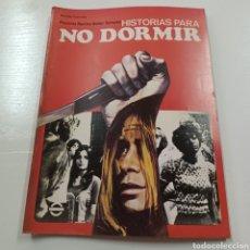 Coleccionismo de Revistas y Periódicos: HISTORIAS PARA NO DORMIR- NARCISO IBAÑEZ SERRADOR VOL. VII N° 6 JUNIO 1973. Lote 270546723