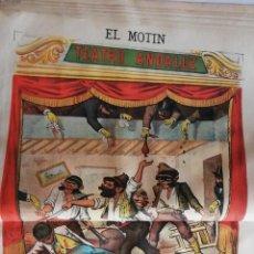 Coleccionismo de Revistas y Periódicos: EL MOTÍN - PERIÓDICO SATÍRICO SEMANAL. Nº 13 - 1 ABRIL 1883. Lote 270579413