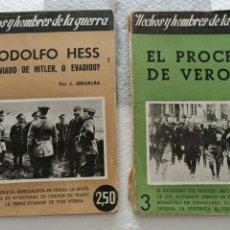 Collezionismo di Riviste e Giornali: 2 EJEMPLARES HECHOS Y HOMBRES DE LA GUERRA N17 Y N3. Lote 270624533