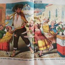 Coleccionismo de Revistas y Periódicos: EL MOTÍN - PERIÓDICO SATÍRICO SEMANAL. Nº 17 - 29 ABRIL 1883. Lote 270647633