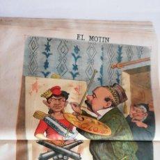 Coleccionismo de Revistas y Periódicos: EL MOTÍN - PERIÓDICO SATÍRICO SEMANAL. Nº 18 - 6 MAYO 1883. Lote 270647713