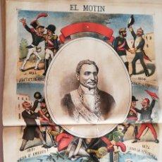 Coleccionismo de Revistas y Periódicos: EL MOTÍN - PERIÓDICO SATÍRICO SEMANAL. Nº 20 - 20 MAYO 1883. Lote 270647853
